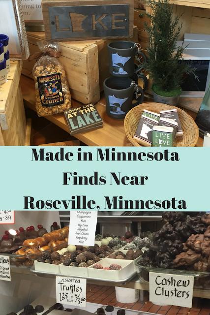 Made in Minnesota Finds Near Roseville, Minnesota