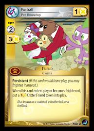 My Little Pony Furball, Pet Roundup High Magic CCG Card