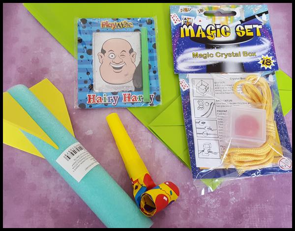 Magic Pre-filled party bag £1.35