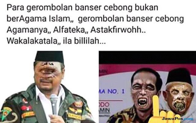 Yaqut Diedit Mirip Dajjal, Jokowi Jadi Tengkorak, MCI Lapor Polisi