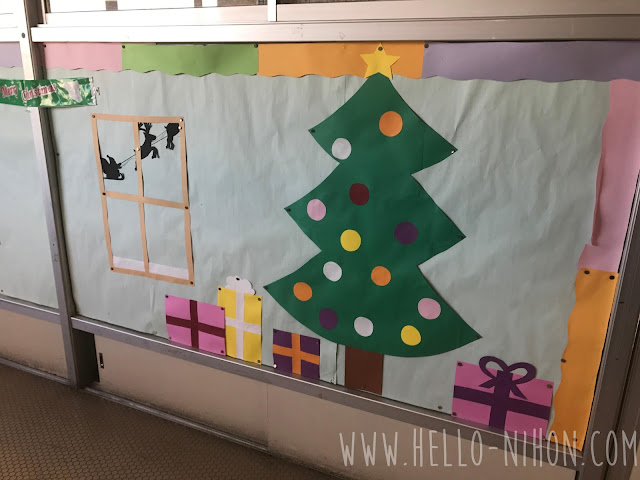 Christmas English Board