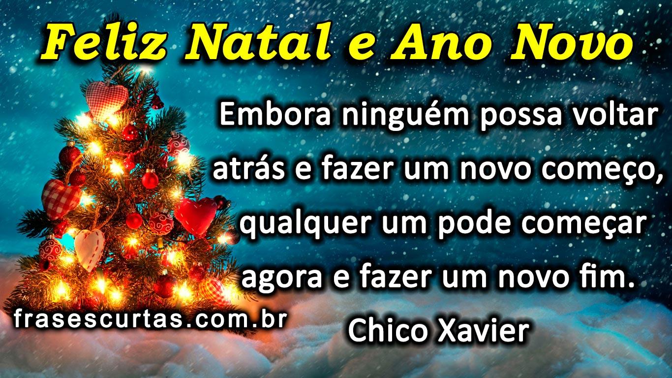 Mensagem De Feliz Ano Novo: Imagens De Natal Com Frases Lindas