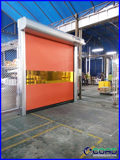 COAD, HIGH SPEED DOOR, RAPID DOOR, ROLLING UP DOOR, ROLLING DOOR, KOREA, JAPAN, THAILAND, VIETNAM, MALAYSIA, INDONESIA