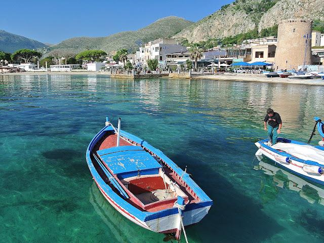 Mondello, Palermo, plaża, gdzie odpoczywać