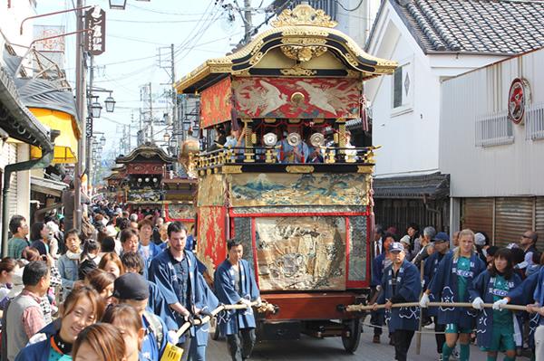 Ueno Tenjin Matsuri, Ueno, Iga, Mie