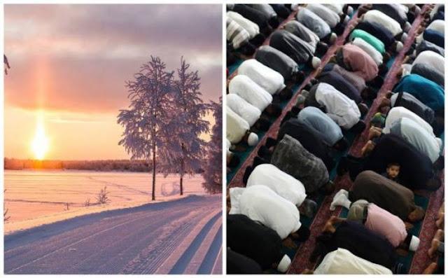 هذا هو أصعب مكان لتعيش رمضان فيه.. الشمس تغرب 55 دقيقة فقط ! كيف يصومون وكيف يفطرون؟