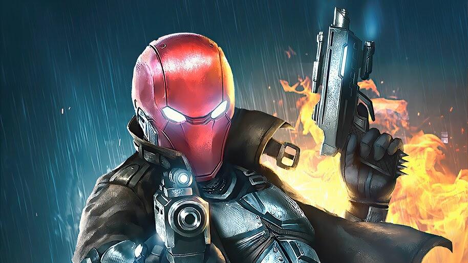 Red Hood, Guns, 4K, #6.2406