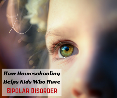 Homeschooling is great for any child, but it's particularly helpful to children who are living with mental health issues, such as bipolar disorder. Find out how in this post.
