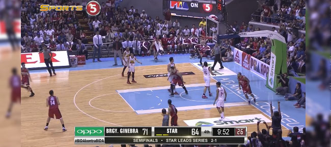 HIGHLIGHTS: Ginebra vs. Star Hotshots (VIDEO) February 15 / Semis Game 4