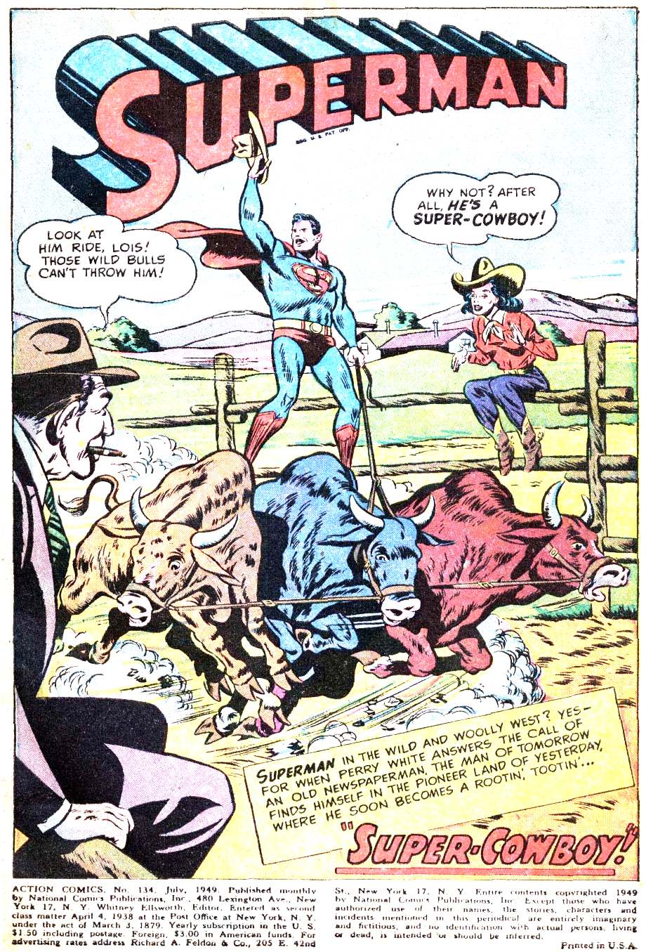 Read online Action Comics (1938) comic -  Issue #134 - 3