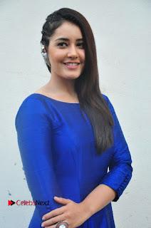 Actress Raashi Khanna Pictures at Supreme Success Meet  0008.JPG