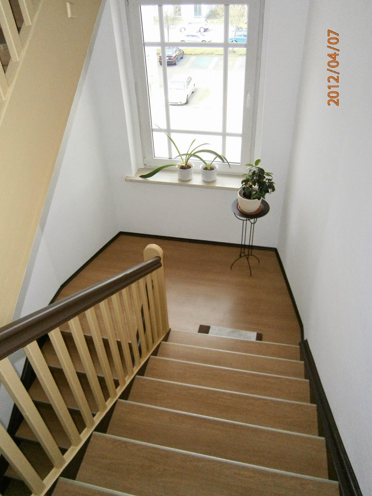 Treppenrenovierung - Treppenprofilsystem  Dekor Eiche