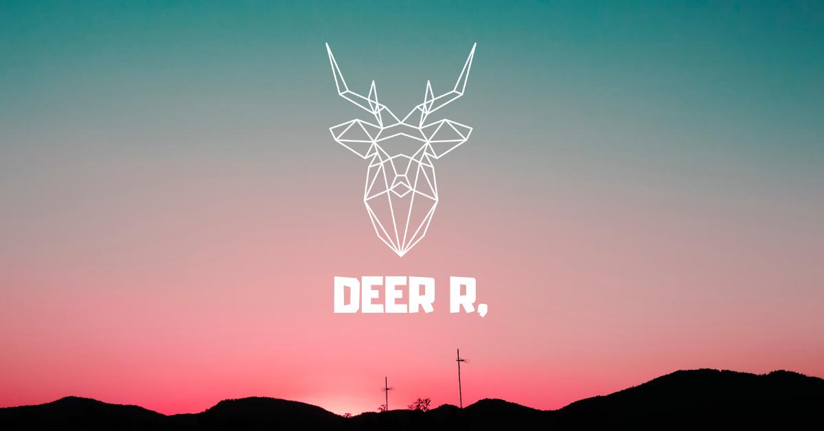 Deer R by Rea Gene