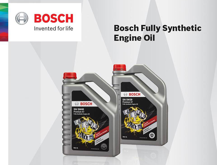 Minyak enjin Bosch berkualiti