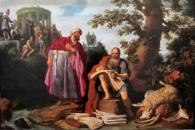 الفلاسفة الذريون:لوقيبوس و ديموقريطس Démocrite et Leucippe