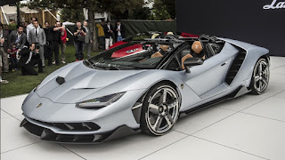 Lamborghini Centenario Roadster at Monterey Car Week 2016