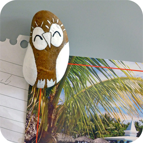 My Owl Barn Diy Painted Owl Magnets