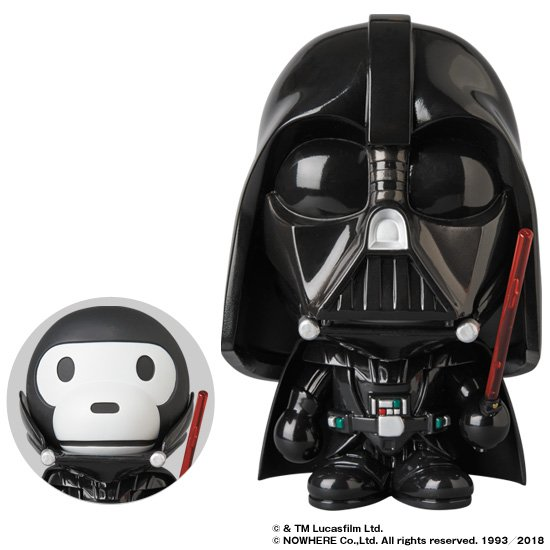 433c9a05 Star Wars VCD x A BATHING APE (Medicom Toy x Baby Milo) for June 23rd  Release