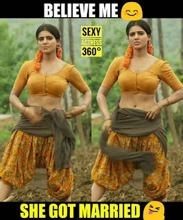 Actress Samantha's Latest Edited Hot Pics From New Movie