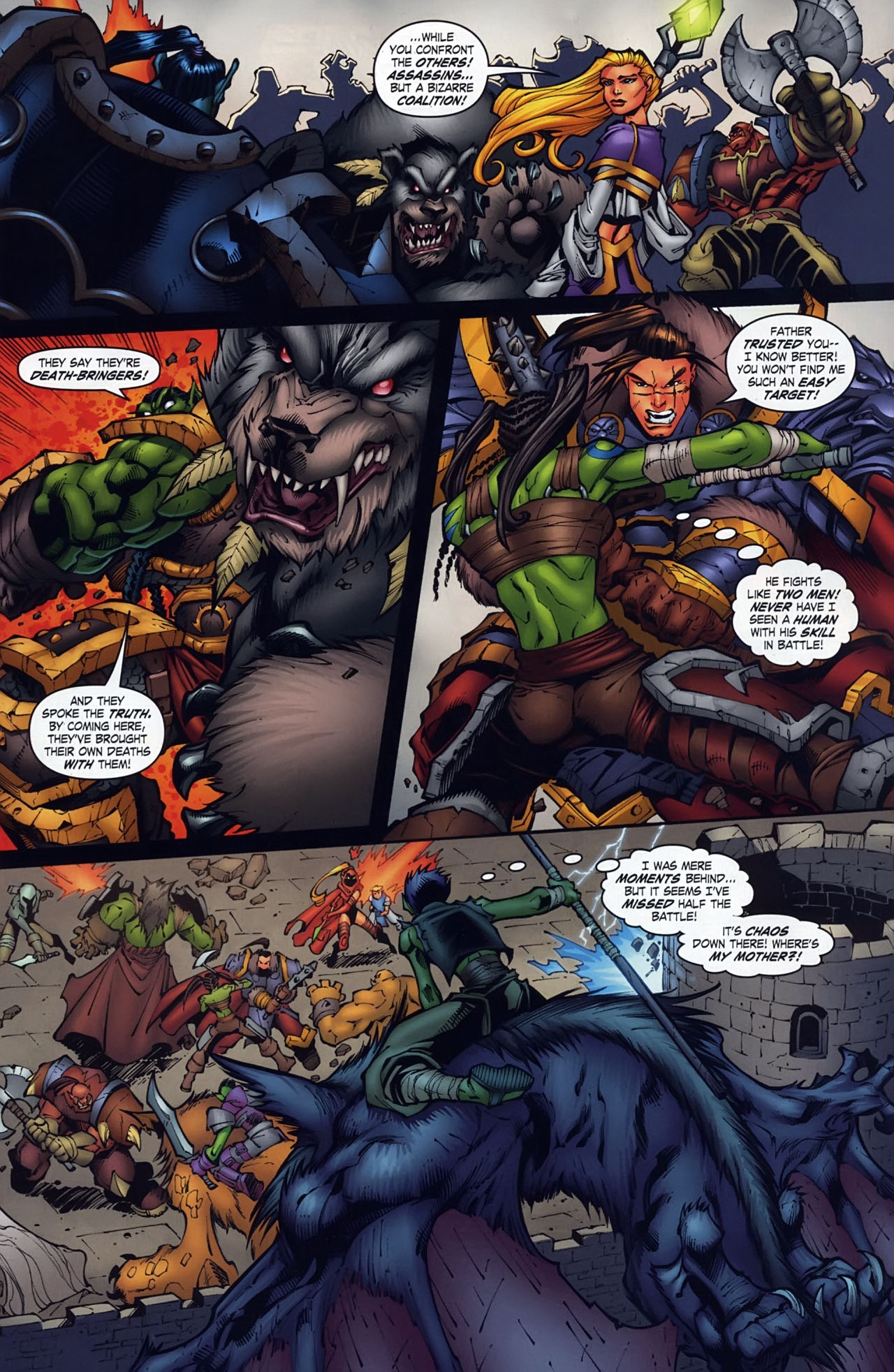 Read online World of Warcraft comic -  Issue #18 - 6