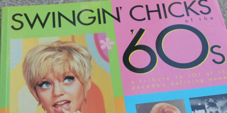 A Vintage Nerd, 1960s Books, Swinging 60s, Vintage Blog, Vintage Book Recommendations, Swingin Chicks of the 60s