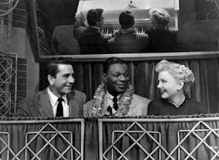 Blue Gardenia Nat King Cole Richard Conte Anne Baxter 1953 film noir