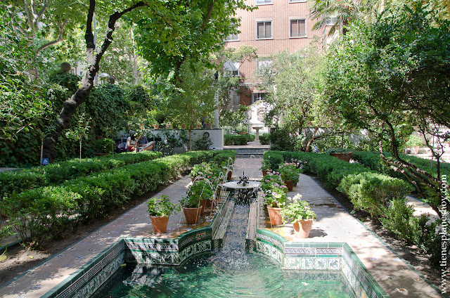 Jardín Casa Museo Sorolla Madrid