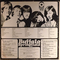 Buffalo Springfield - Back Cover