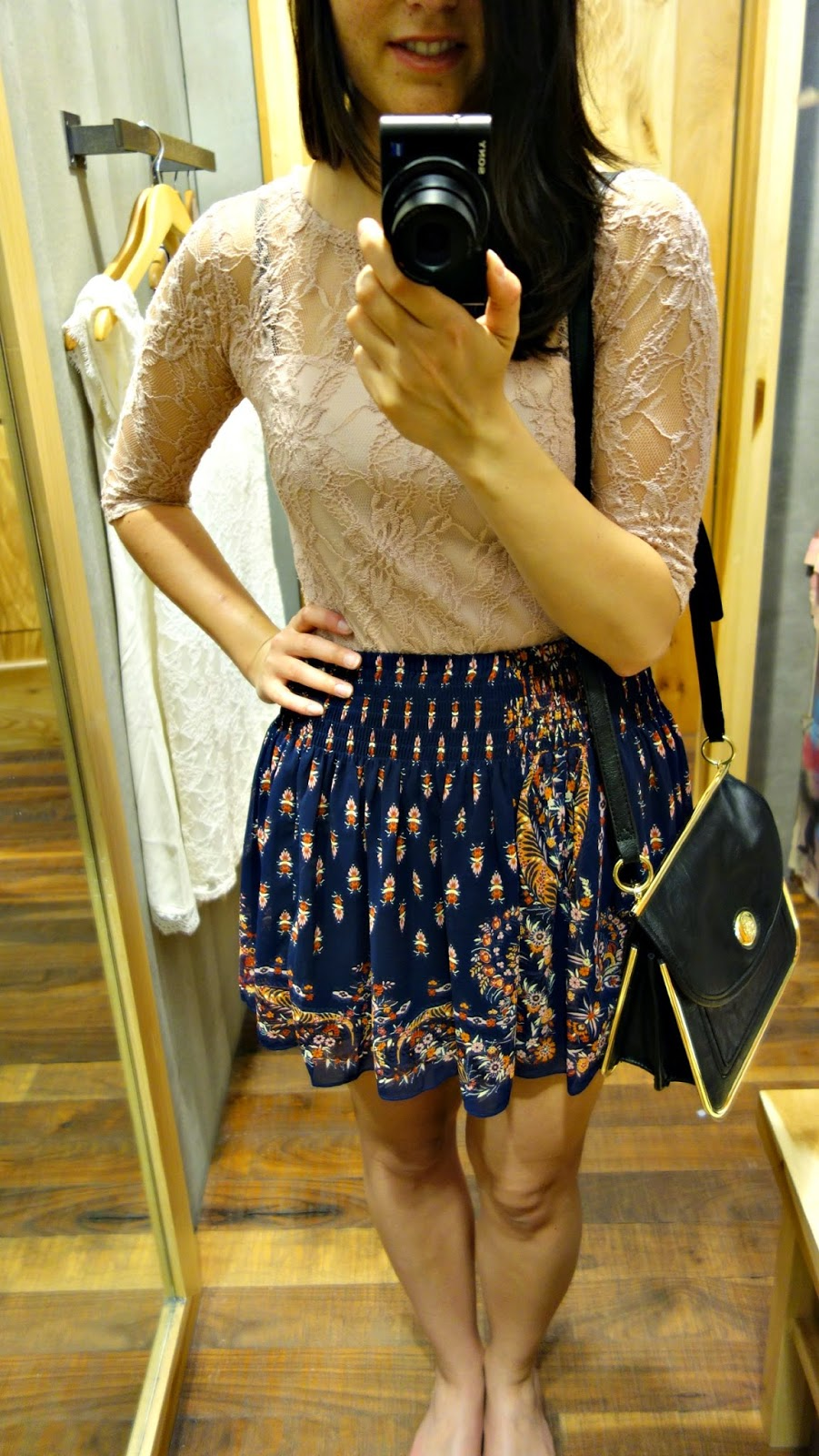 Sale Urban Outfitters shirt and skirt