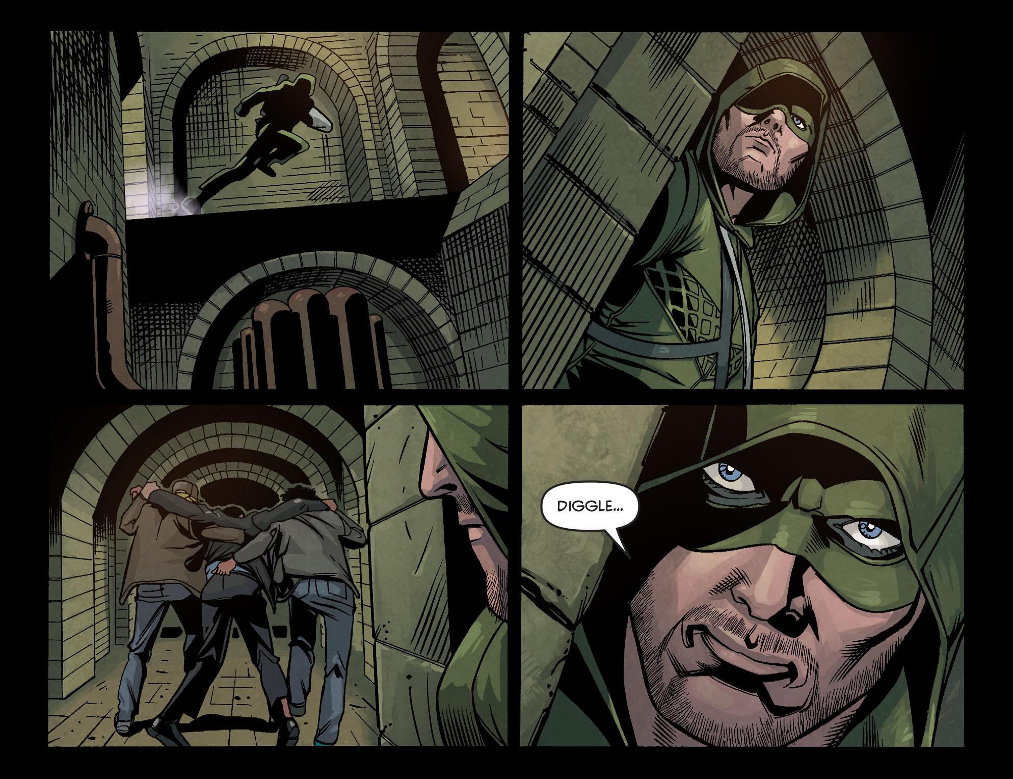 Read online Arrow: Season 2.5 [I] comic -  Issue #6 - 10