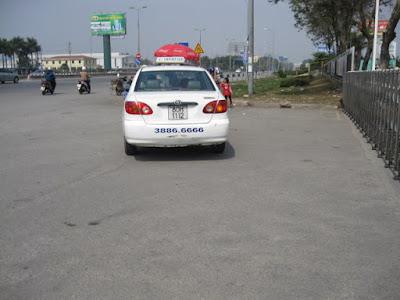 ベトナムの悪質タクシー