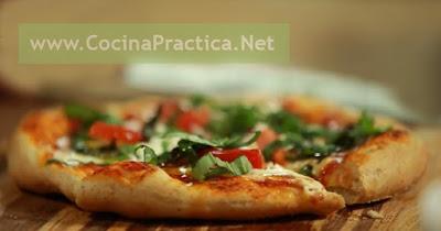 Tostapizza, Pizza con pan tostado