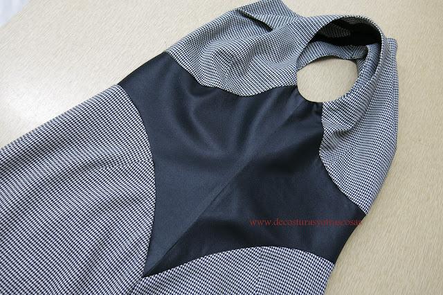 costuras laterales y sisas