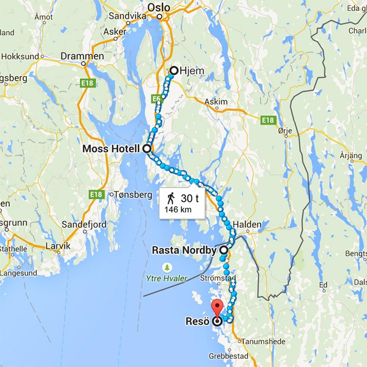 resø sverige kart Lengre enn langt   Pippi og Proffen på nye eventyr | Blogg  resø sverige kart
