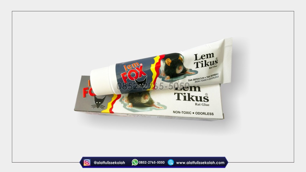 lem tikus fox ampuh, alattulissekolah.com, 0852-2765-5050
