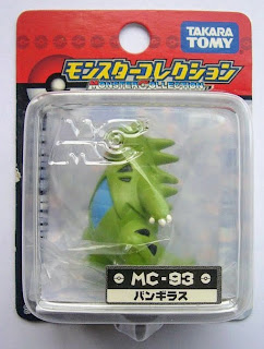 Tyranitar  figure Takara Tomy Monster Collection MC series