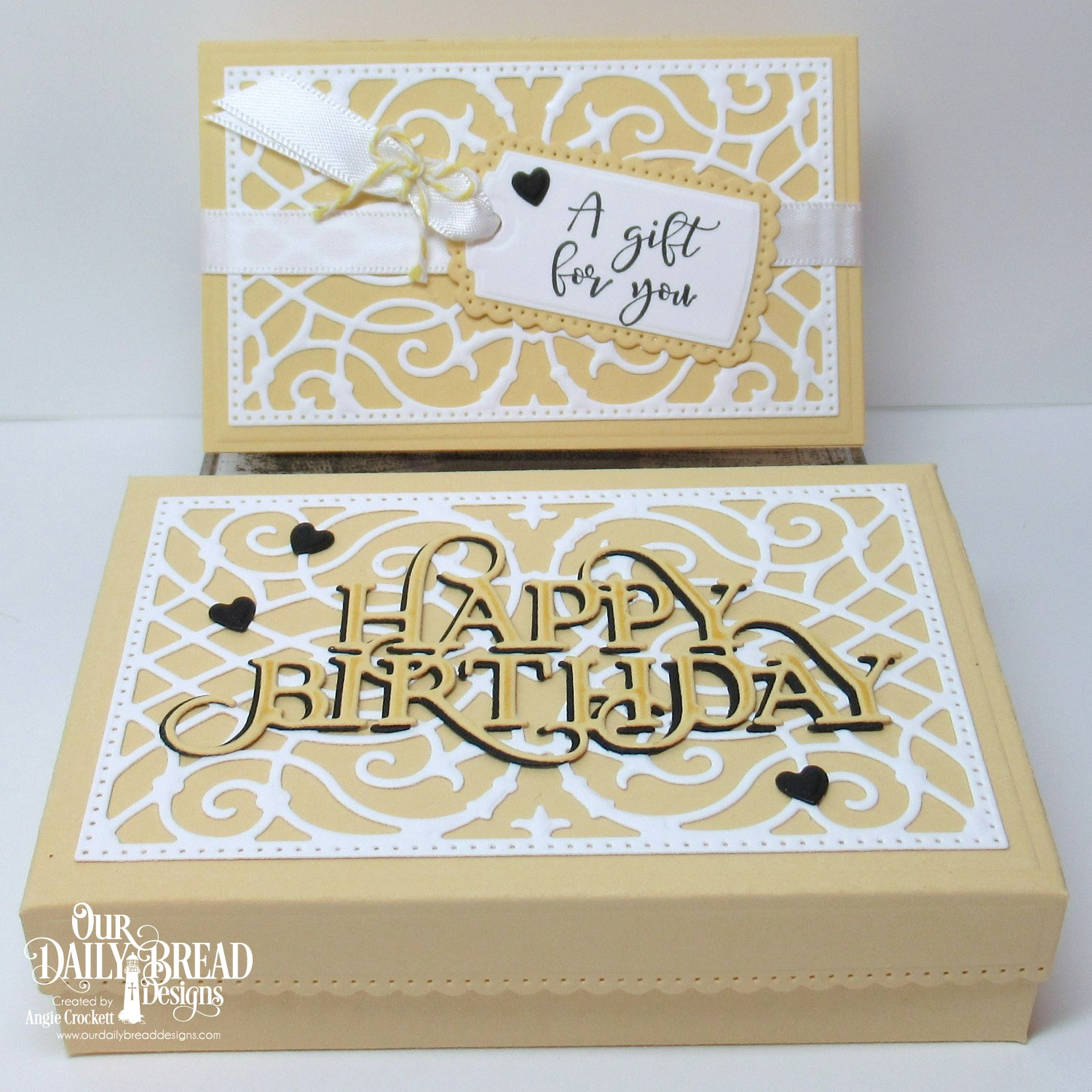 ODBD Custom Gift Card Holder Dies A For You