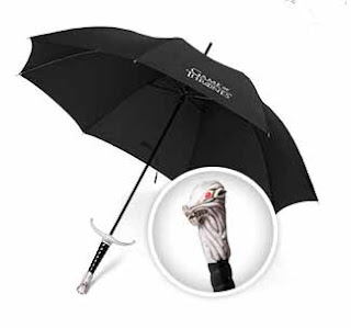 Licensed Game of Thrones Longclaw umbrella - a perfect gift for any GOT fan
