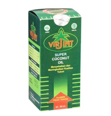 VCO Virjint - Manfaat, Dosis, Efek Samping dan Harga
