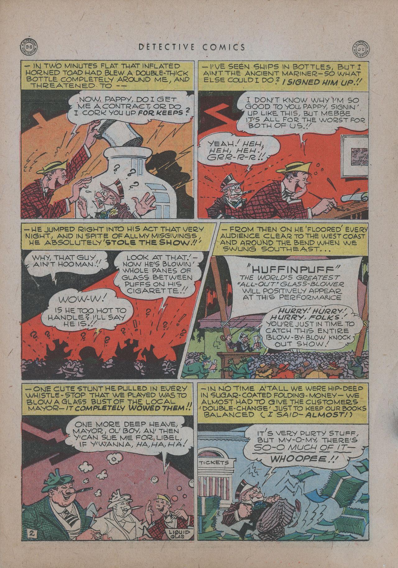 Read online Detective Comics (1937) comic -  Issue #101 - 36