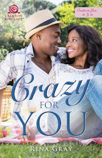 romance novel covers, contemporary romance, Crazy For You by Rina Gray