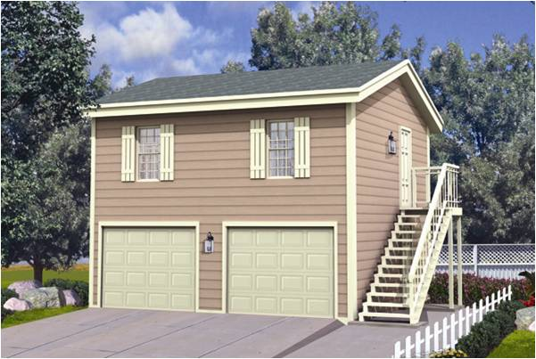 2 Car Garage With Apartment Plans