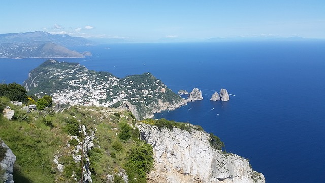 Island of Capri Naples, Naples, Tourist attractions, Tourism, Italy, Sea Castle, Beaches, Castle,