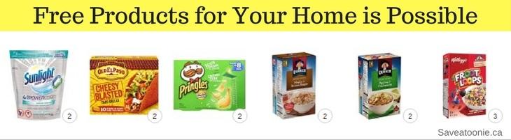 Free Groceries to Your Door no Coupons