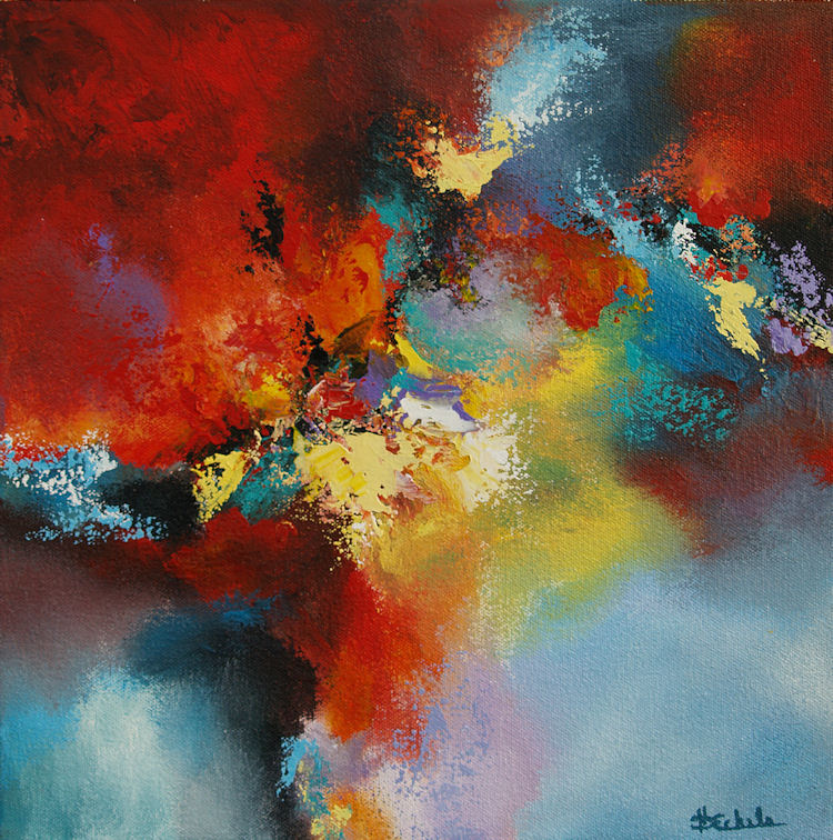 Artists: No Day Without Art By Nancy Eckels: Color Storm By