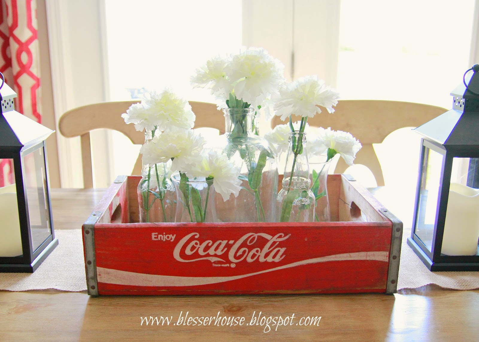 fd932024f8e5 Goodwill Find  Vintage Coca-Cola Crate Centerpiece
