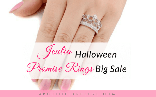 Jeulia Halloween Promise Rings Big Sale