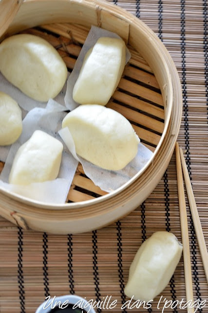 Mantou ( chinese steamed buns)