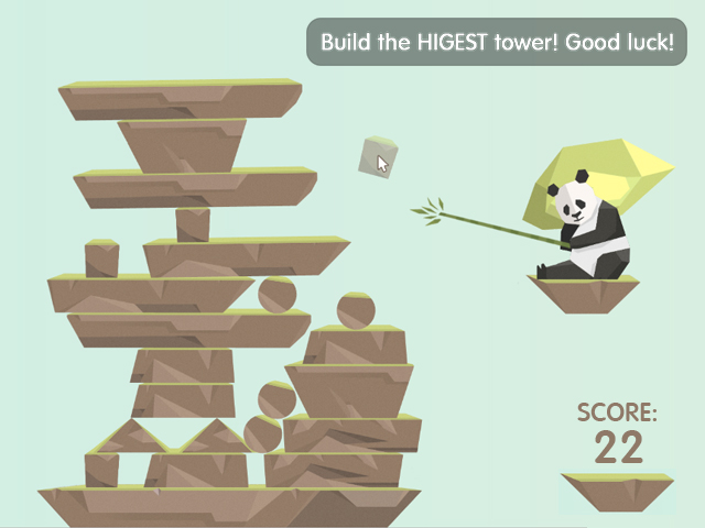 Up the higest tower