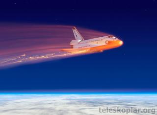 uzay araçları atmosferde neden zarar görmez?